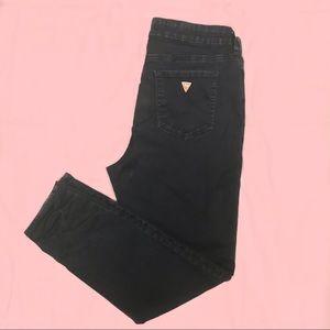 Guess Tahiana High Waist Jeans- Midnight Blue Wash